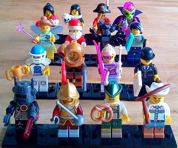 World Minifigures Collect Them All Lego-collectible-minifigures